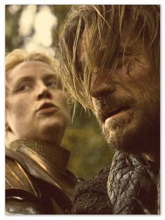 Brienne of Tarth and Jamie Lannister