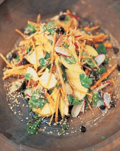 moorish crunch salad ::: by jamie oliver