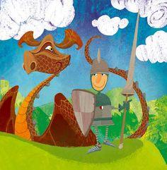 Poesia Infantil i Juvenil: poemes de Sant Jordi