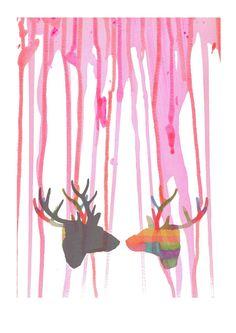 Infinitive love mixed media digital art pink by LouisestArt, $30.00