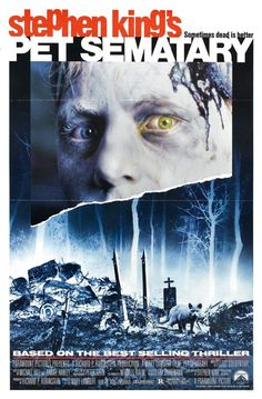 film, stephen king, book, poster, horror movi, 1989, pet sematari, favorit movi, petsematari