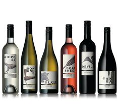 Longview Estate: contemporary illustrated wine labels from an australian vineyard.