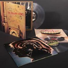 Rolling Stones relançarão discos em vinil transparente