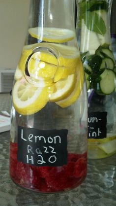 Love these flavored water recipes!