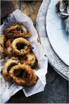 Crumbed Calamari