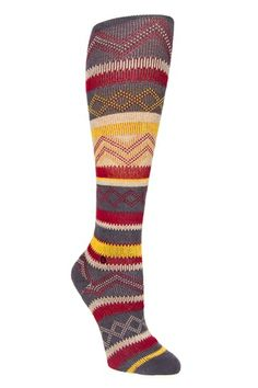 Stance - Electric Ethnic Knee High Sock - Charcoal