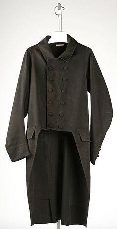 coat, 1810-1820, English