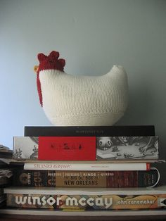 Ravelry: Project Gallery for Knit Chickens pattern by Susan B. Anderson