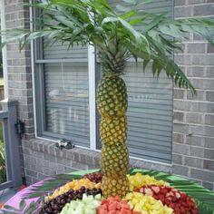 Cute fruit tray