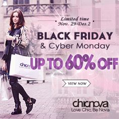 Chicnova Black Friday 2013 Up To 60% Off