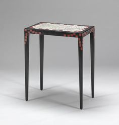 Table by Jean Dunand, ca. 1925