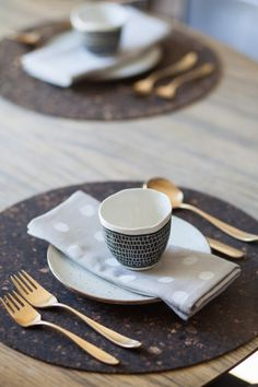 chic place setting, grey, white, gold, texture