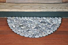 the doors, idea, river rocks, rock collection, stone