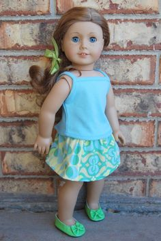 "Dream. Dress. Play.: Scrap Saver 18"" Doll Skirt: FREE Pattern"