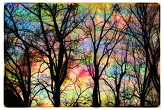 Cotton candy sky11x17 Original signed Fine by dahliahousestudios, $99.00