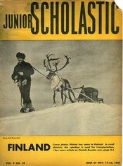 Junior Scholastic explored Finland in the November 1941 issue of the magazine.