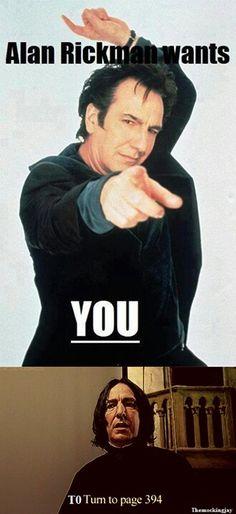Funny Alan Rickman