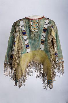 Plains Sioux War Shirt, circa 1880, Berkshire Museum collection