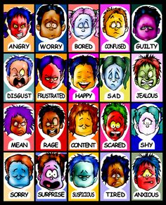 Feeling Faces Cards