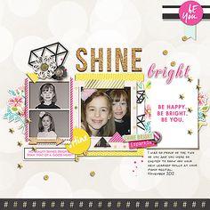 Shine Bright combing