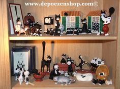 Albert Dubout cats