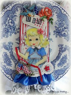 An American Girl, altered tag