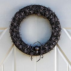 Scary Spider Wreath