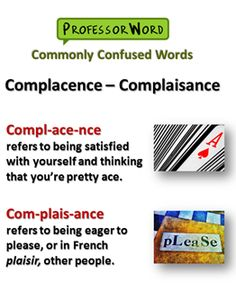 Commonly Confused Words 7daf16bba8c80756cbdfbeb9ef4f887e