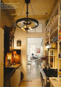 Same John Derian apartment kitchen...different view.