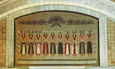 "Tapestry, ""The Sun Dance"" by Hildreth Meiere, Nebraska State Capitol, Lincoln, Nebraska tapestries, sun danc, lincoln, dance, styleart deco, hildreth meier, nebraska state"