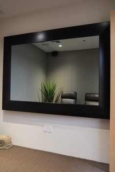 Mirrors on pinterest phoenix parade of homes and hidden tv for Mirror for samsung tv