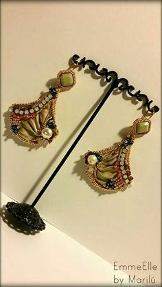 Www.facebook.com/EmmeEllebymarilu - shibori earrings
