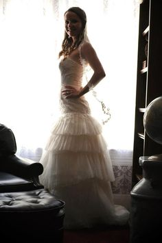 Vera Wang wedding dress... Photo by @Teresa Funes