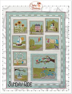 Sunday Ride by Cherry Blossoms Quilting Studio