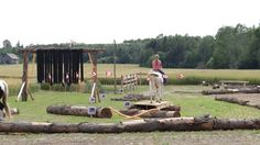 A few of our 20 point obstacles to try at Horsecountry campground.  #equine #horseobstacles #horsechallenge