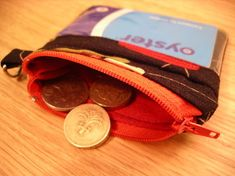 Zipper pouch tutorial with clear front pocket