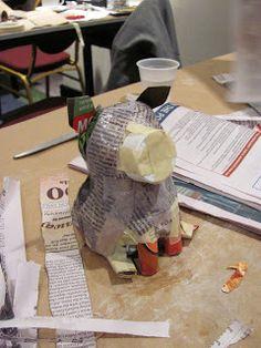 Great papier-mache sculpture ideas
