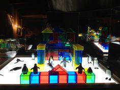 Artsy Play & light table blocks