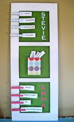 chore boards, idea, kids chore charts, organ, turtl life, kid chores, turtles, picture frames, clothespins