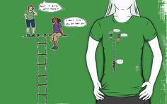 What a great t-shirt idea!  by bustygirlcomics