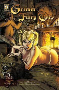Grimm Fairy Tales #9 Heavy Metal Exclusive Cover #GrimmFairyTales #GFT #Zenescope