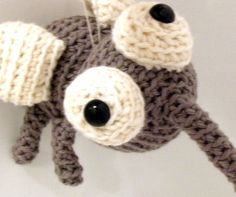 Amigurumi PATTERN: Crochet Mosquito -pdf-