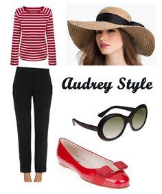 Audrey Hepburn get the look.