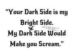 #darkside #darkness #scream - Jordan Sarah Weatherhead