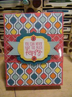 Stampin' Up All Occasion Cards  Set of 6 by CoffeeandCardstock, $20.00