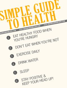 Simple Guide to Health