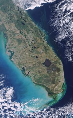 Satellite Photo Florida
