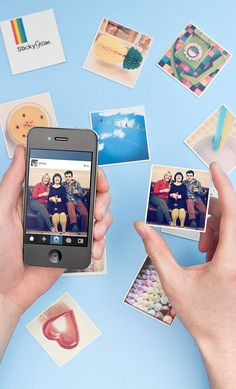 These cute magnets can be made with photos from your Instagram, camera-roll or desktop. A nice idea to stick your memories around! And they do free delivery worldwide. desktop, camera photo, magnet