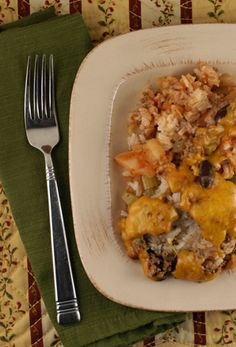 Ship Wreck Casserole -  Vintage Recipe