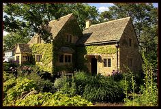 Cotswold Cottage in Greenfield Village, located in Dearborn, MI.